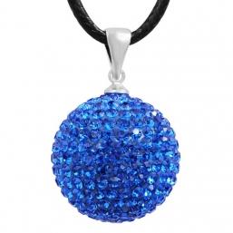 BOLA - kristalli 20mm  (tumman sininen)