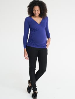 Äitiysfarkut Skinny jeans (musta) - FUNMUM