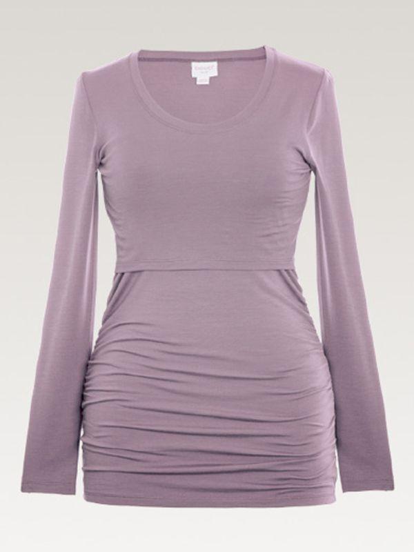 Boob Design pitkähihainen paita, joka sopii sekä odotus- että imetysaikaan. Boob imetyspaidan ansiosta imettäminen on nyt helppoa ja huomaamatonta.
