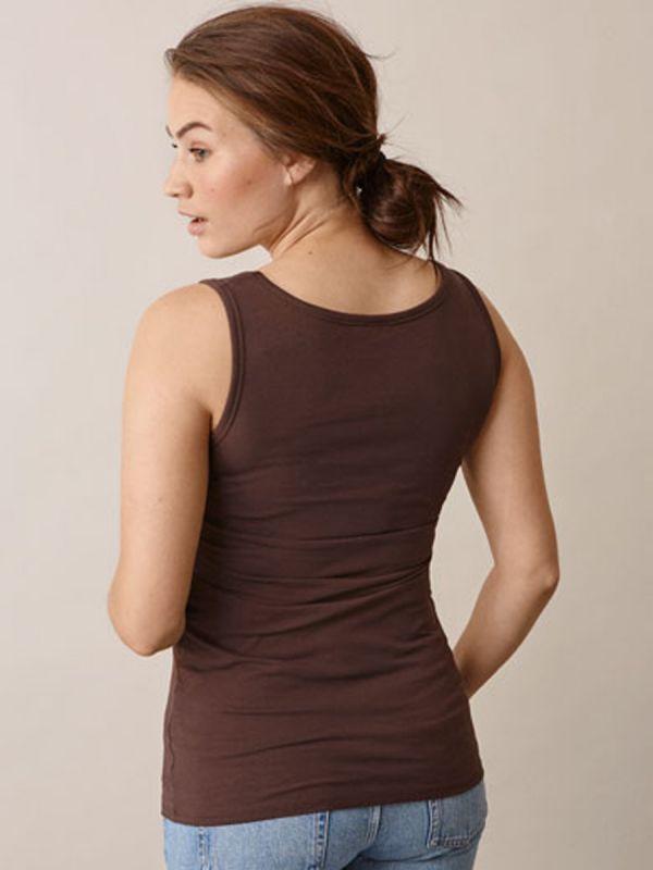 Toppi, joka sopii sekä odotusaikaan että imetysaikaan. Boob imetyspaidan ansiosta imettäminen on nyt helppoa ja huomaamatonta, raoitat vain paidan etuosaa.