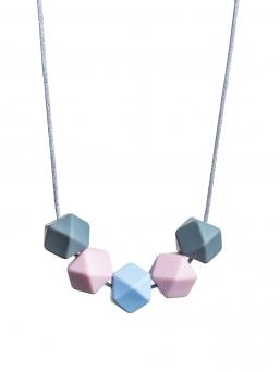 Imetyskoru (harmaa-rosa-sininen)