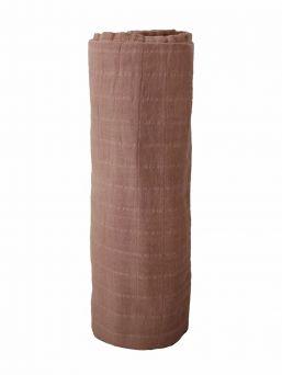 Mushie monikäyttöinen isokokoinen harsoliina sopii täydellisesti niin pukluliinaksi, imetyssuojaksi kuin vaipanvaihtoalustaksikin.