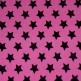 Pinkki / mustat tähdet -pipo