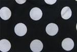 Musta / valkoinen isopallo -pipo