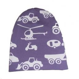 Violetti ajoneuvot -pipo