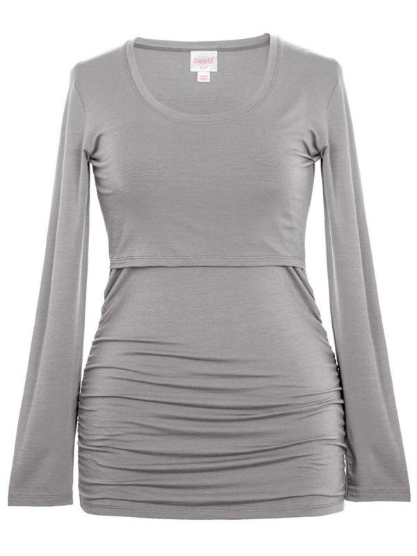 Boob Design dusk pitkähihainen paita, joka sopii sekä odotus- että imetysaikaan. Boob imetyspaidan ansiosta imettäminen on nyt helppoa ja huomaamatonta.