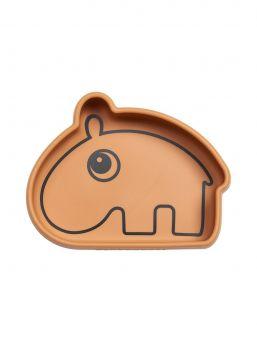 Suloinen Done By Deer -merkin Ozzo kulho pysyy täydellisesti pöydän pinnassa kiinni, näin vältät kulhon joutumisen lattialle tai lapsen heittoleluksi. Soneltuu mikrolämmitykseen sekä astianpesukoneeseen.