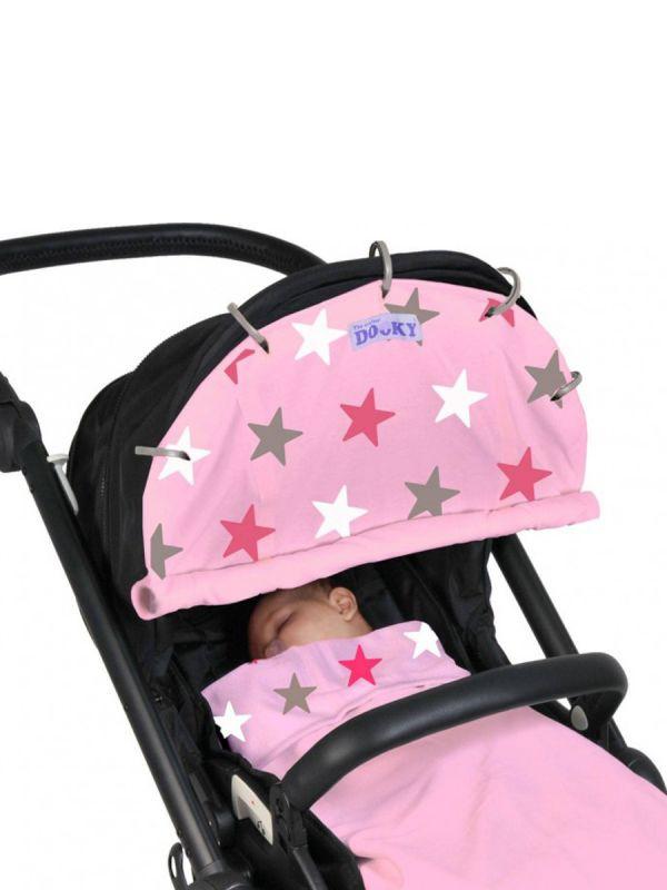 Dooky vaunusuoja (pink stars)