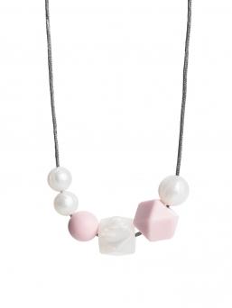 Imetyskoru (helmi helmiäinen-rosa)