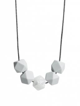 Imetyskoru (valkoinen-metallivalkoinen)