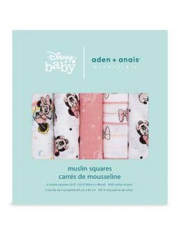 aden + anais essentials harsoliinat (60 x 60 cm), 5-pack.