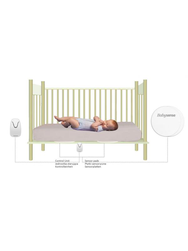 Babysense kätkythälytin. Kymmeniä tuhansia käyttäjiä kodeissa ja sairaaloissa. Babysense kätkythälytin herättää sinut ennen kuin on myöhäistä. BABYSENSE -apneamonitori on kehitetty vanhempien avuksi ongelmatilanteiden havainnointiin lapsen nukkuessa. Laite hälyttää ja herättää vanhemmat, jos lapsen hengitys hidastuu, muuttuu katkonaiseksi tai pysähtyy kokonaan.