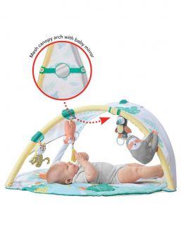 Ship Hop Leikkimatto Tropical Paradise. Leikkikaari vauvalle, joka muuntautuu leikkimatoksi.