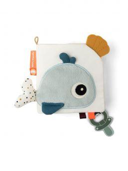 Done By Deer aktivointikirja Baby Book Sea friends on suloinen ensikirja vauvalle.