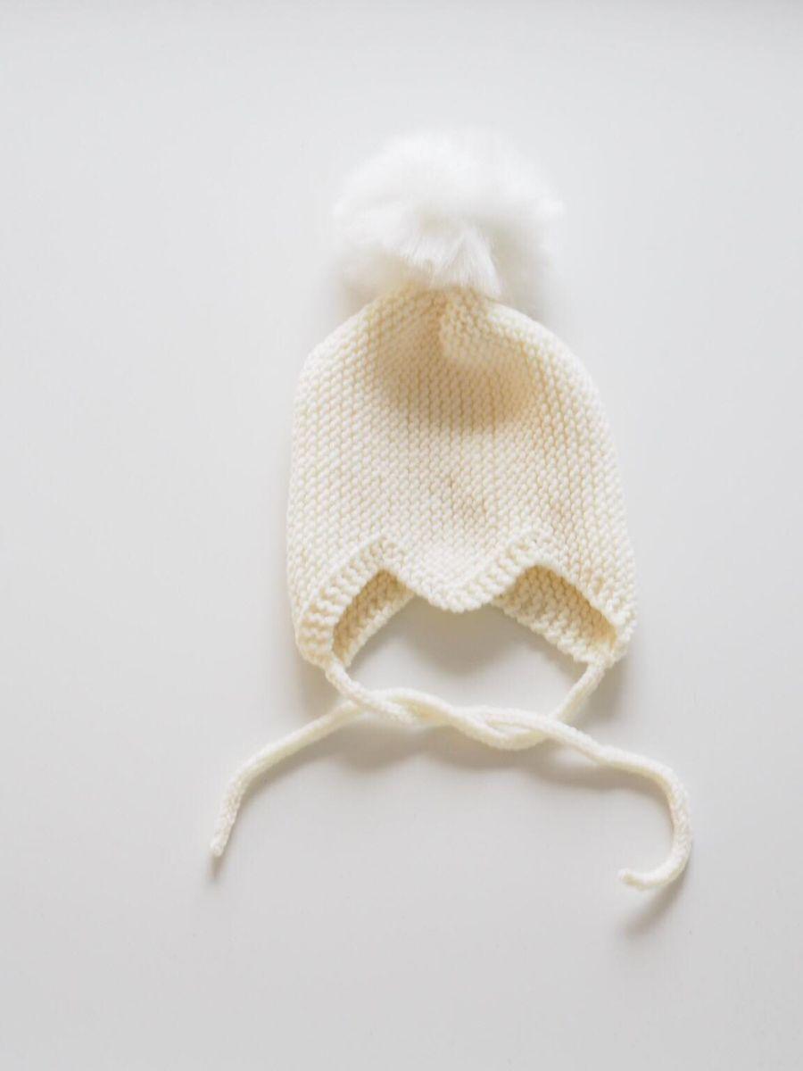 Anna mukava vauvan hattu valokuva ja teksti lahjaksi!