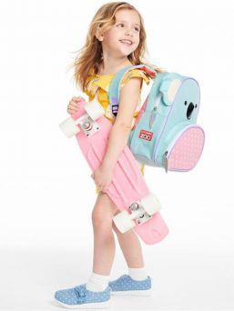 Skip Hop Kerhoreppu lapselle, jossa pehmustetut olkaimet sekä lämpöeristetty sivutasku eväille.