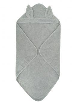 Pehmeä ja laadukas hupullinen pyyhe vauvan tai taaperon suihku- ja kylpyhetkiin.