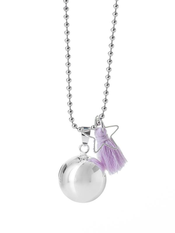 BOLA - hopea perusbola tassel (violetti)