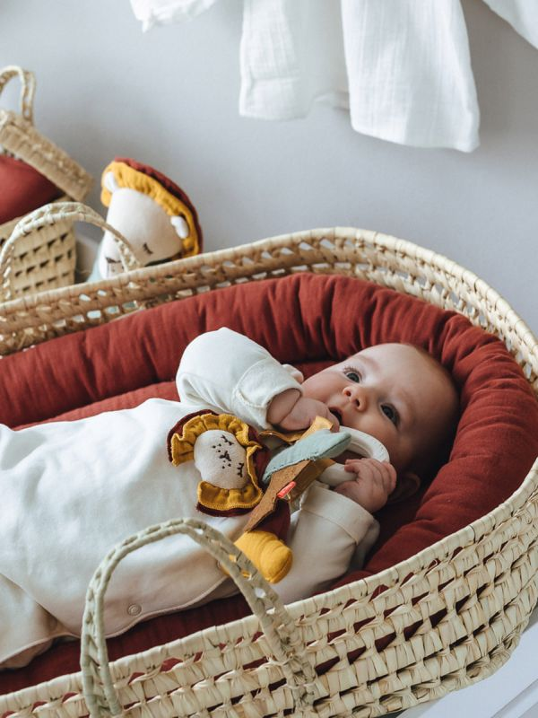 Baby Palm Leaves hoitoalusta vauvalle
