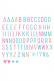 Lightbox – lisäkirjaimet (pastelli)