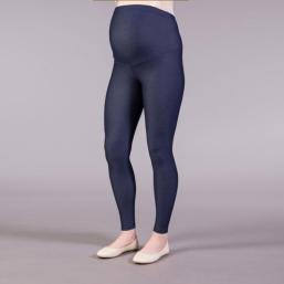 Äitiyslegginsit korkealla tuella (jeans)