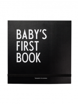 Design Letters Baby´s First Book vauvakirja (musta)