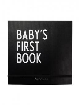 Design Letters Baby´s First Book vauvakirja (musta)