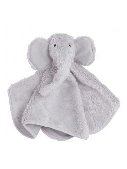 Baby's Only Cuddle Elephant helisevä uniliina vauvalle. Silkin pehmeä norsuliina helisee hiljaisesti, kiinnittäen näin vauvan huomion itseensä.