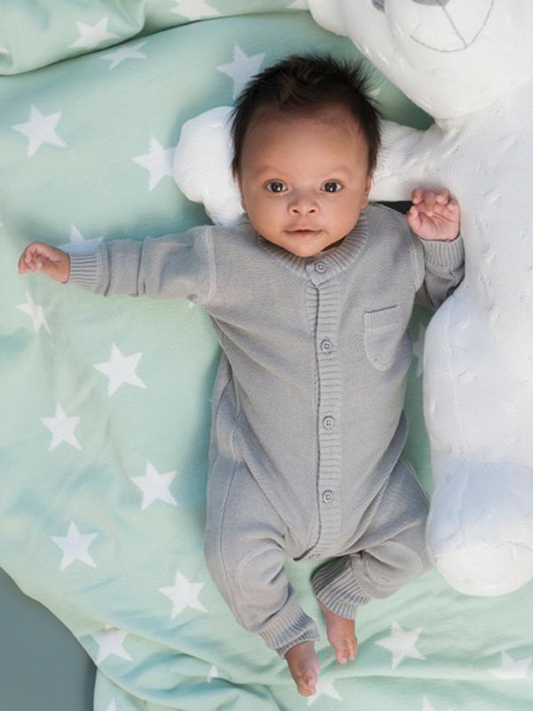 Baby's Only vauvan neulehaalari (harmaa)
