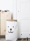 Paperipussi on kestävä ja uudelleenkäytettävä. Kun avaat paperipussin ja muotoilet sen haluamaksesi, paperipussista tulee täydellinen sisustuselementti lastenhuoneeseen.