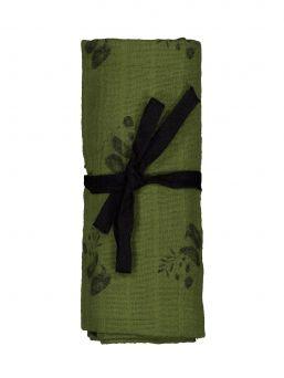 Rose In April monikäyttöinen isokokoinen harsoliina sopii täydellisesti niin pukluliinaksi, imetyssuojaksi kuin vaipanvaihtoalustaksikin.