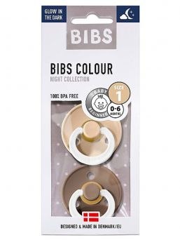 BIBS yötutti on todellinen klassikko tutti. Bibs tutti on lohduttanut pienokaisiamme jo 50 vuotta. Yötutin lenkki loistaa pimeässä.