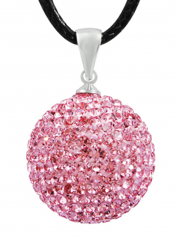 BOLA - kristalli 18mm (pinkki)