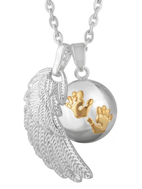 BOLA - hopea kädenjälki (kulta) + siivet