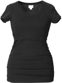 BOOB Äitiys- ja imetys T-paita Flatter Me (musta)