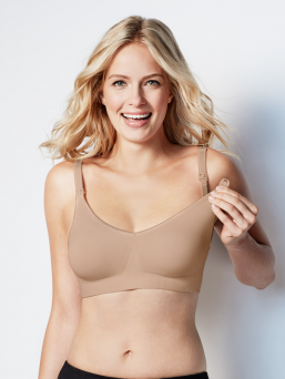 BRAVADO the body silk seamless imetysliivit (butterscotch)