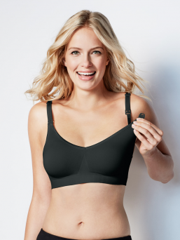BRAVADO the body silk seamless imetysliivit (musta)