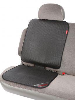 Suojaa autonistuinta lialta ja murusilta Grip It™ turvaistuinsuojan avulla. Ei enää painaumia tai mustia likatahroja, joita istuimesta monesti tulee auton penkkiin.