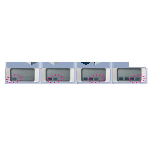 CLEARBLUE Digitaalinen Raskaustesti Smart Timer (2kpl)