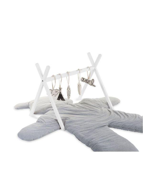 Childhome Tipi Play Gym leikkikaari vauvalle (valkoinen)