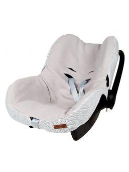 Päällinen vauvan turvakaukaloon sileäneulos | Baby´s Only (helmenharmaa)