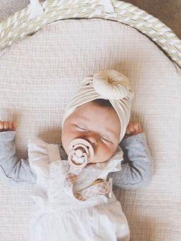 Childhome Basket punottu hoitoalusta vauvalle