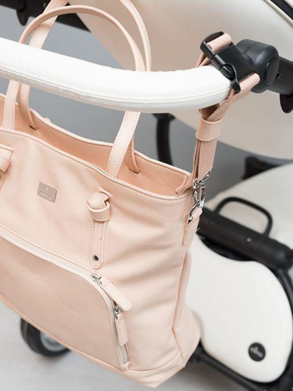 Hoitolaukku, vaaleanpunainen |BABY´S ONLY