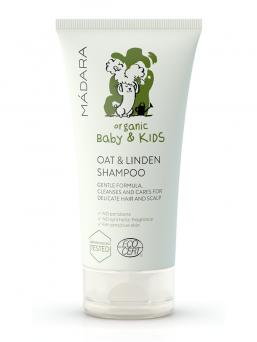 Mieto shampoo lapsille kaura & lehmuksenkukka 150ml