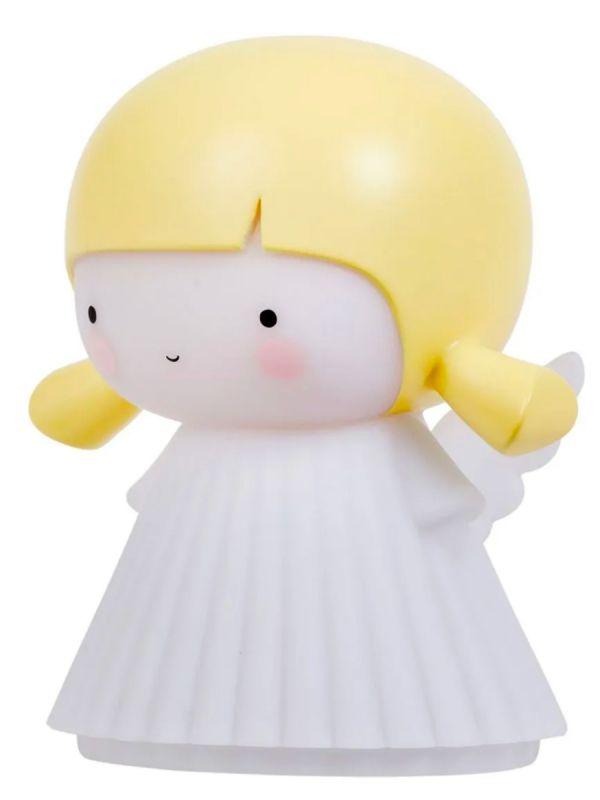 A Little Lovely Company lasten enkeli yövalo antaa pehmeän hehkun, mikä tekee siitä täydellisen lapsille, jotka eivät halua nukkua pimeässä.