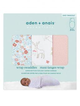 Aden + Anais vauvan kapalo, joka rauhoittaa ja luo turvallisen olon vauvalle. Materiaalina hengittävä puuvilla.