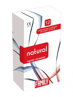Family natural kondomi 12kpl (regular)