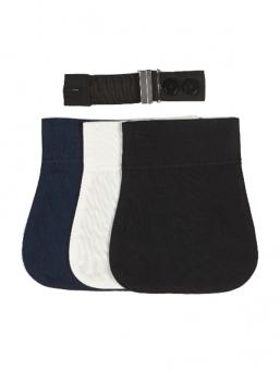 Carriwell Flexi Belt, jonka avulla voit pitää omia housujasi pidempään raskauden edetessä.