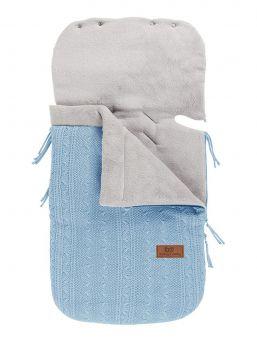 Baby´s Only lämpöpussi baby blue vaaleansininen on arjenhelpottaja. Lämpöpussin ansiosta vauvaa ei tarvitse riisua ja pukea jatkuvasti, vaan voit laittaa vauva lämpöpussiin päivävaatteilla. Vauva pysyy pussissa lämpöisenä kaupassa, kylässä ja muilla arjen riennoilla.