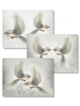 Mrs Mighetto Oh Birds (DIY) 3-pack